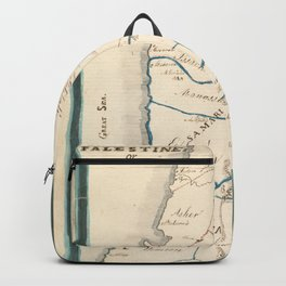 Map of Palestine or Canaan Backpack
