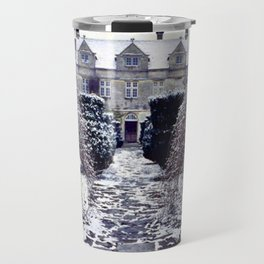 The Cotswolds In Winter Travel Mug