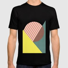 Minimal Complexity v.2 Mens Fitted Tee Black SMALL