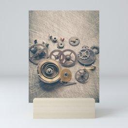 Watch Cogs and Gears Mini Art Print