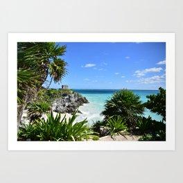 Royals Caribbean View Art Print