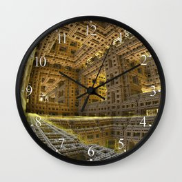 November City Wall Clock
