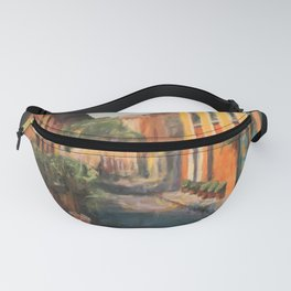 A Quiet Morning Fanny Pack