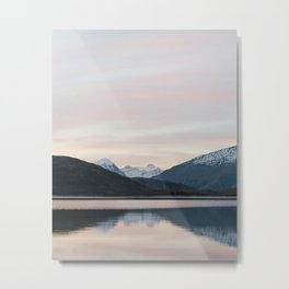 Wanaka Sunset Metal Print