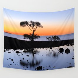 Cleveland Point Sunset Wall Tapestry