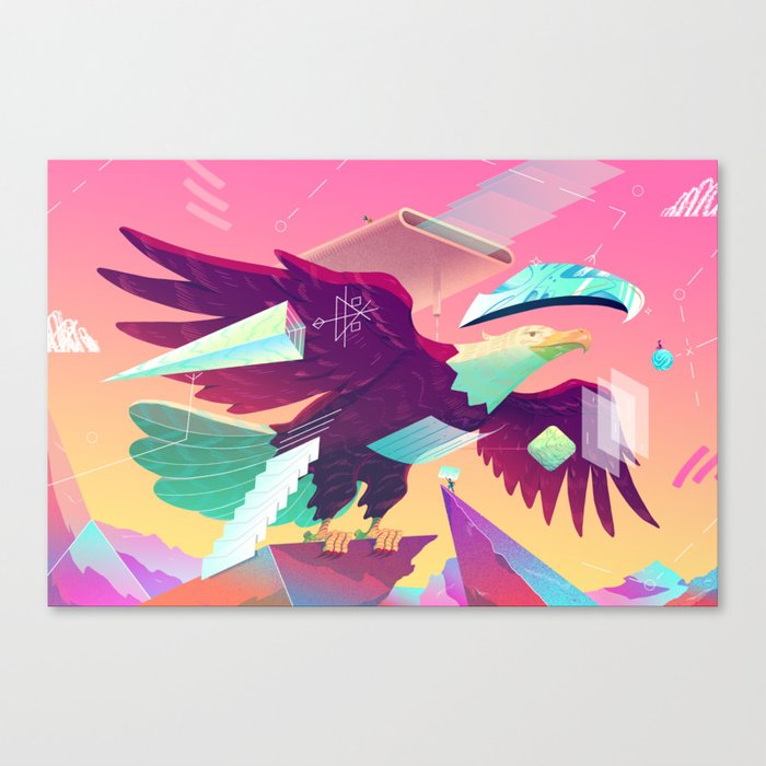 MURICUH Canvas Print