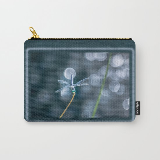 Air bokeh dragonfly Carry-All Pouch