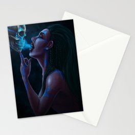 The Necromancer's Kiss Stationery Cards