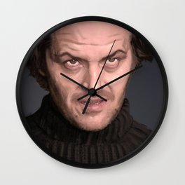 Jack Torrence Wall Clock