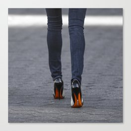 Excess Orange Canvas Print
