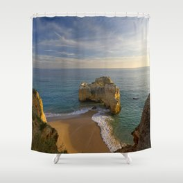 Praia da Rocha, Portugal Shower Curtain