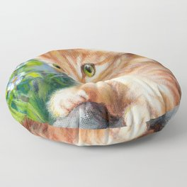 Nosy Floor Pillow