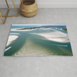 Rich's Inlet at the North End of Figure 8 Island | Wilmington NC Rug