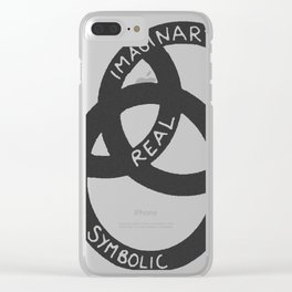 Imaginary - Real - Symbolic Clear iPhone Case