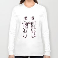 robots Long Sleeve T-shirts featuring - robots - by Digital Fresto