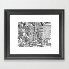 New York View 3 Framed Art Print