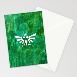 Zelda Triforce Painting Stationery Cards