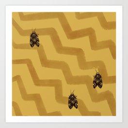 Sahara bug Art Print