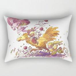 Final Fantasy: Wildlings on the Veldt Rectangular Pillow