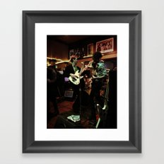 Paulie Hips And The Child Bearers  Framed Art Print