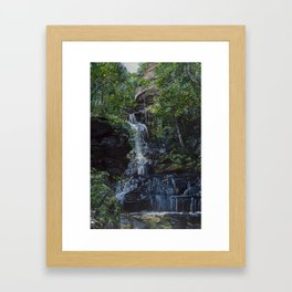 Empress Falls Framed Art Print