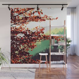 autumn vibes on the road Wall Mural