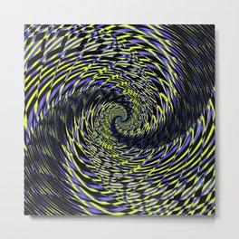 Rotating in Circles Series 10 Metal Print
