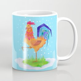 New Year rooster 2017 Coffee Mug