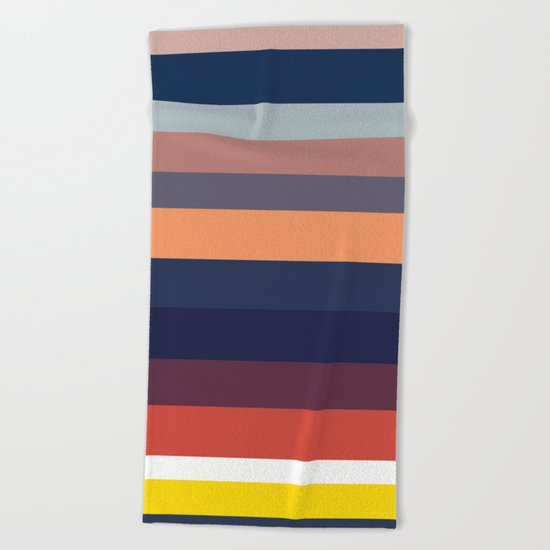 Ocean Sunset #1 Beach Towel