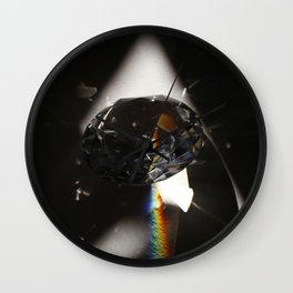 Lost in the Light Wall Clock