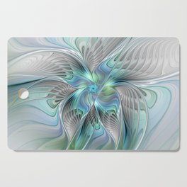 Abstract Butterfly, Fantasy Fractal Art Cutting Board