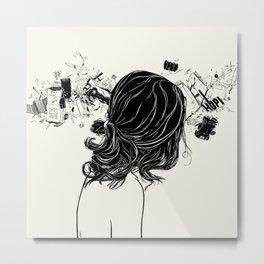 Wave Overdose Metal Print