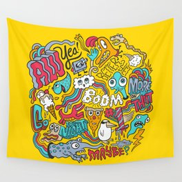 AW YEA! Wall Tapestry