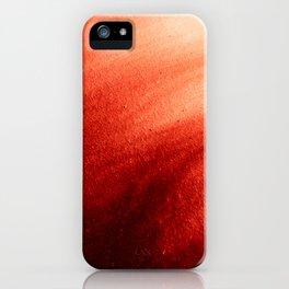 Indefinite Red iPhone Case