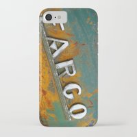 fargo iPhone & iPod Cases featuring Fargo by Photo by Malin Linder
