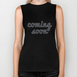 Coming Soon Biker Tank