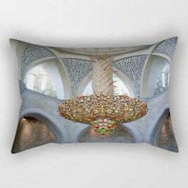 Dubai - Magnificent Chandelier 2 Rectangular Pillow