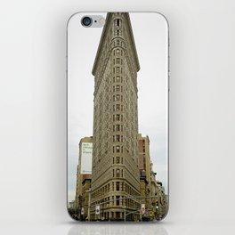 The Flatiron's Perfect Symmetry iPhone Skin