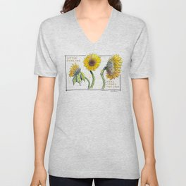 Sunflowers Unisex V-Neck