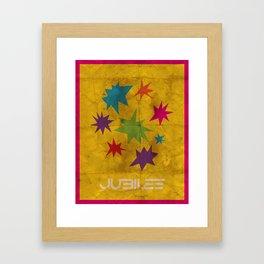 Minimalist Jubilee Framed Art Print