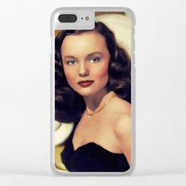 Wanda Hendrix, Actress Clear iPhone Case