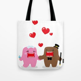 A Very Domo Wedding Tote Bag