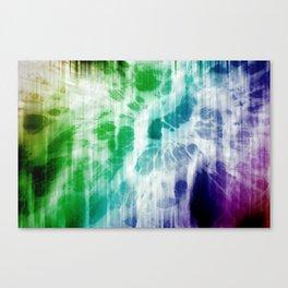 Retro, Boho Chic Tye-Dye Pattern Canvas Print