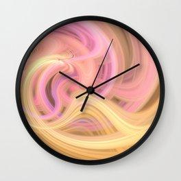 Trippy Twirl 3 Wall Clock