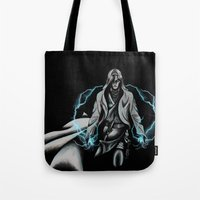jedi Tote Bags featuring Jedi by ED Art Studio