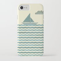 sailboat iPhone & iPod Cases featuring SailBoat by Jeremy Lobdell