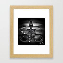 The rest is silence Framed Art Print