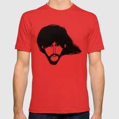 George. Mens Fitted Tee Red LARGE
