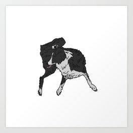 Dog Lover (Border Collie) Art Print