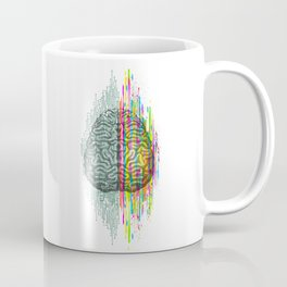 The Mind - Brain Dichotomy Coffee Mug